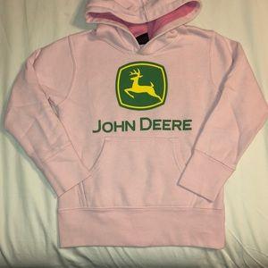 John Deere Hoodie Pink